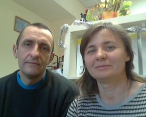 семейная пара, бытовая пара, работники в коттедж, семейная пара в загородный дом, семейная пара работа