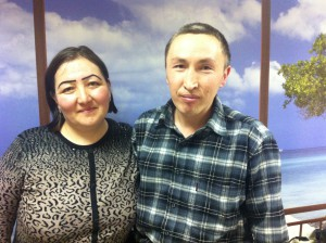 Оморбеков Искандер и Маметова Айшан