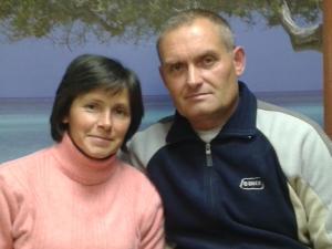 семейная пара в дом