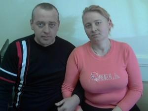 семейная пара в загородный дом
