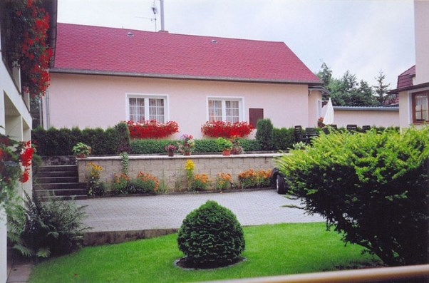 газон перед домом